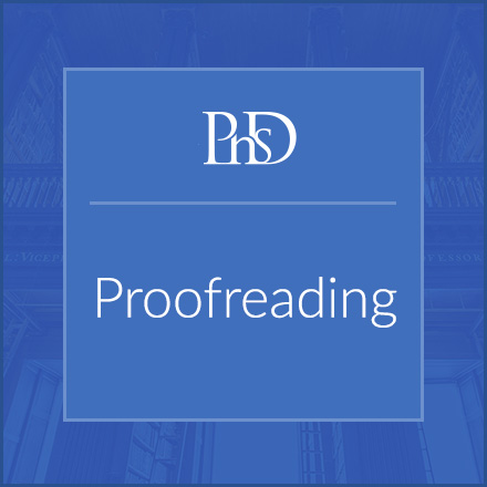 PhD Proofreading Services www.yourphdsupervisor.co.uk